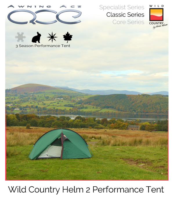 new arrival 97512 afbb5 Wild Country Helm 2 Performance Tent
